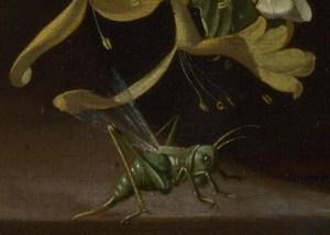 Grasshopper_detail_in_Rachel_Ruysch_Flowers_in_a_Vase_c_1685