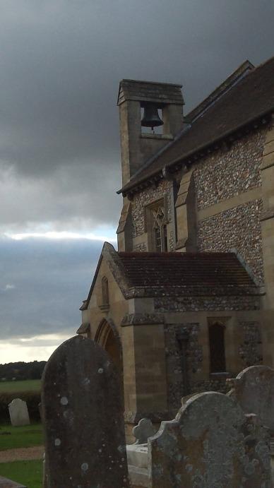 Church under an Angry Sky