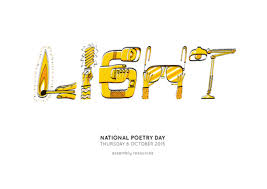 National Poetry Day Light