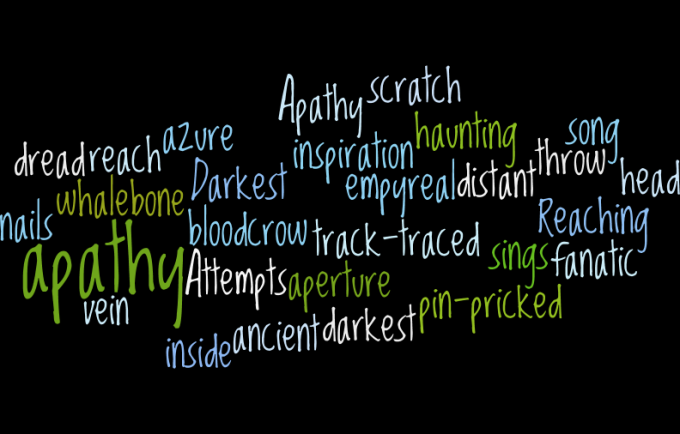 Darkest Apathy wordle