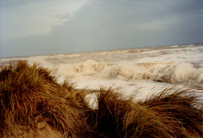 Sea Palling coastline after the storm