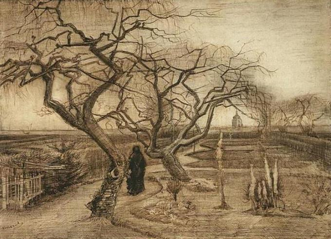 Winter Garden by Van Gogh