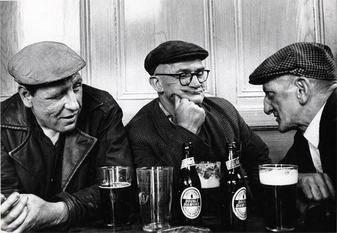 On Watching Three Old Drinkers