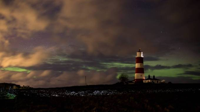 Northern Lights over Happisburgh
