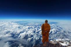 monk-on-a-mountain-peak