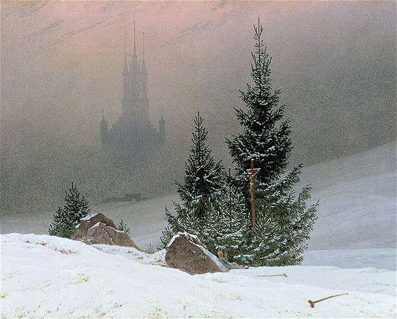 winter-landscape-by-caspar-david-friedrich