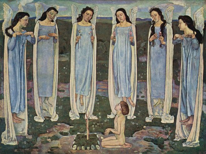 Ferdinand Hodler The Chosen One