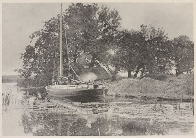 Norfolk Wherry, Supper Time 1892