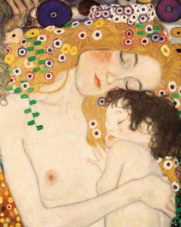 Mother and Child Gustav Klimt