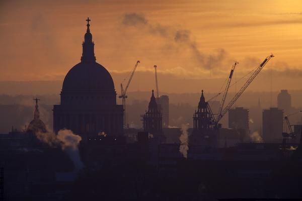 St Paul's Cathedral Silhouette