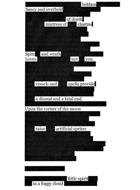 Erasing Shakespeare
