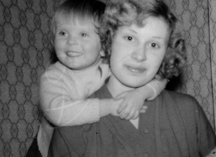 Mum and me when I was two025