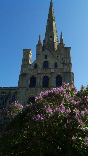 Norwich Cathedral in Spring 2