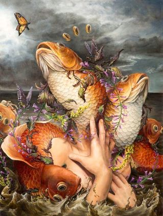 Hannah Yattas Inverted Mermaid
